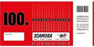 Ladengeschäft Gutschein Wert Fr. 100.-