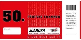 Ladengeschäft Gutschein Wert Fr.  50.-