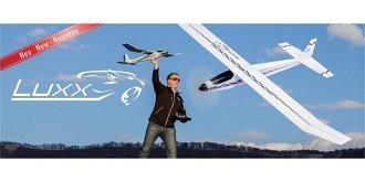 RC Flug Aeronaut Luxx 1300mm Kit Holz