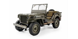 RC Car FMS Willys 1941 MB Crawler 4WD 1:12 RTR