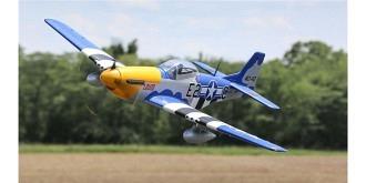 RC Flug E-flite P-51D Mustang AS3X Safe 1500mm BNF