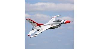 RC Flug E-flite F-16 815mm BNF 70mm EDF AS3X