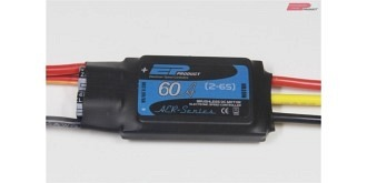 ESC EP AER 60A 2-6S LiPo, S-BEC 6A, 65g