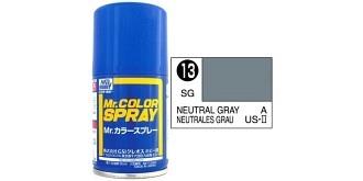 Mr.Color Spray grau (US) S13 semi-gloss 100ml