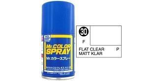 Mr.Color Spray klarlack matt S30 flat 100ml