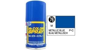 Mr.Color Spray blau metallic S76 gloss 100ml