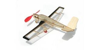 Freiflug Gummimotor V-Tail Kit Balsaholz