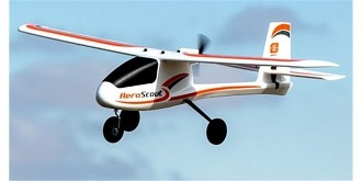 RC Flug Hobbyzone AeroScout S 1100mm BNF SAFE