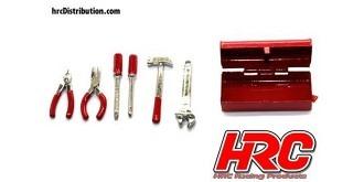 Body Parts Werkzeugkasten inkl. Werkzeug 1:10