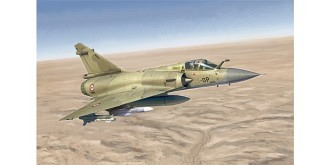 ITALERI Mirage 2000C 1:72 Kit Plastik