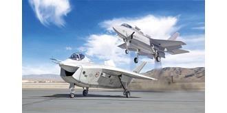 ITALERI X-32A + X-35B Test Fighter 1:72 Kit Plastik
