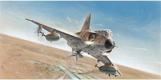 ITALERI Mirage III C Swiss Edition 1:32 Kit Plastik