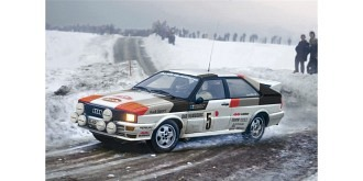 Audi Quattro Rally Monte-Carlo 81 1:24 Kit Plastik