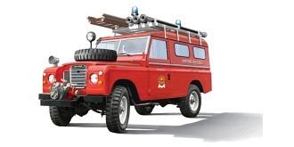 Italeri Land Rover Fire Truck 1:24 Kit Plastik
