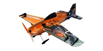 RC Flug RC Factory Edge 540 V3 orange Combo 840mm