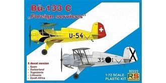 RS Models Bücker Jungmeister 133C 1:72 Kit Plastik