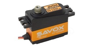 Servo Savox SV-1250MG  7,4V 8,0kg 0.095 35x15x29,2mm