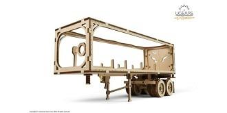 UGEARS Auflieger für LKW Heavy Boy VM-03 Holzkit