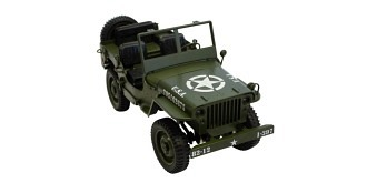 RC Car Jeep olivegrün 1:12 RTR