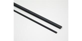 CA-5  Carbon halbrund  6 x 3 mm l=1.0m