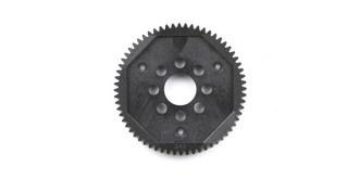 TT02/TB04 Speedgetriebe Zahnrad 64T (Mod. 0.6)