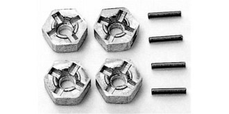 Radmitnehmer 6-kant 12mm Alu 6mm 4St