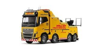 RC LKW Tamiya Volvo FH16 750 8x4 Tow Truck 1:14