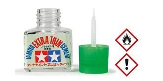 Tamiya Plastikkleber extra flüssig mit Pinsel 40ml