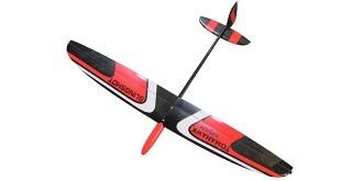 RC Flug Tomahawk Slingshot rot DLG 1,0mm LH RTF
