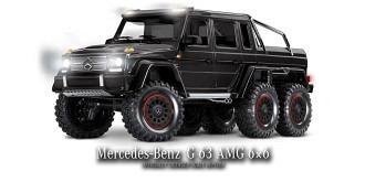 RC Car Traxxas TRX-6 Mercedes G63 6x6 schwarz 1:10