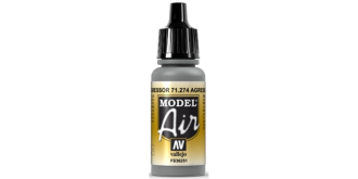 Vallejo MA Agressor Gray 17ml